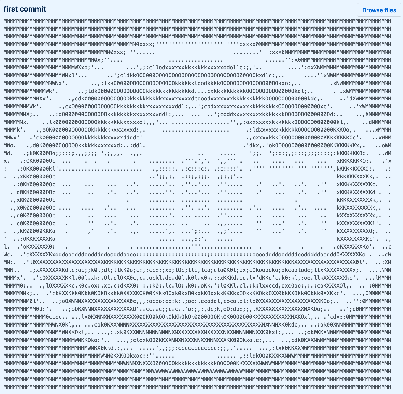 White House ASCII Art